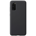 SMOOTH-S20FENOIR - Coque souple Galaxy S20FE en silicone noir mat
